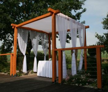 Svatební altán na Skalce