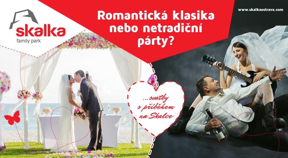 d0db70220 Romantická klasika nebo netradiční party? ..svatby s příběhem na Skalce -  Skalka family park