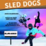 SLED DOGS sněžné brusle k zapůjčení v areálu Skalka family park