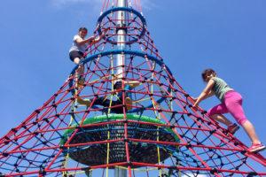 Velka lanova pyramida - Skalka family park Ostrava